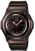 Casio Women's BGA141-5BCR Baby-G Shock Resistant Analog Digital Watch