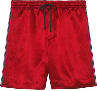 Gucci GG Star track shorts
