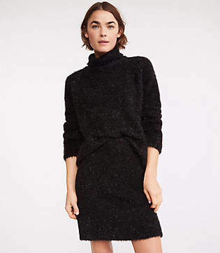 Lou & Grey Frosty Sweater Skirt