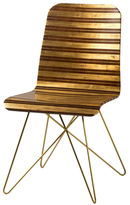 Starburst Stainless Steel Chair