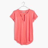 Madewell Turntable Split-Neck Tee