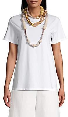 Max Mara Women's Rada Multi-Beaded Necklace