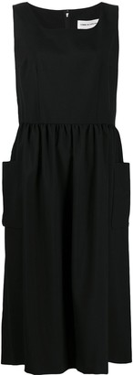 COMME DES GARÇONS GIRL Pinafore Midi Dress