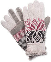 Isotoner Signature Women's smarTouch Snowflake Gloves