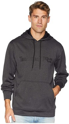 Timberland Hoodmaster Fleece Hoodie (Dark Charcoal Heather) Men's Long Sleeve Pullover