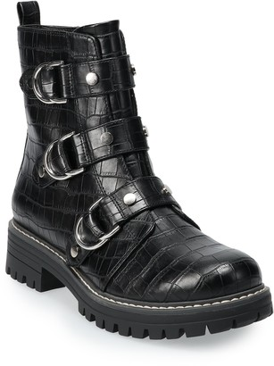 So Cichlid Women's Combat Boots