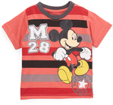 Children's Apparel Network Mickey Mouse Stripe Crewneck Tee - Toddler