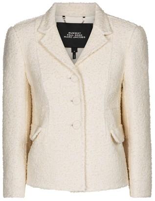 Marc Jacobs Wool-blend boucle blazer