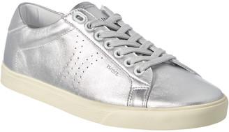 Celine Triomphe Metallic Leather Sneaker