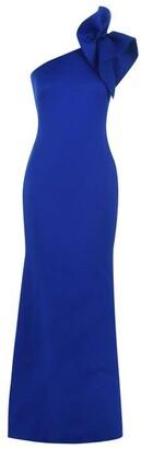 Eliza J One Shoulder Bodycon Gown
