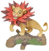 "Precious Moments Disney® ""Dream Big"" Simba with Leaf Mane Figurine"