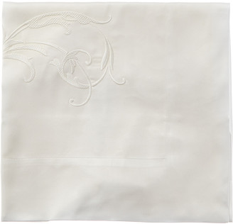 Frette Tracery Embroidered Euro Sham
