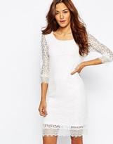 Vila Lace all over lace detail dress