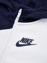 Nike Sportswear Older Boys Core Amplify Full Zip Hoodie - Navy/White