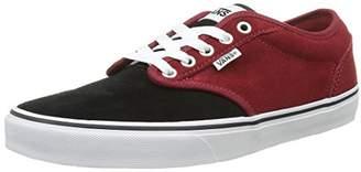 Vans Men's Atwood Low-Top Sneakers, Varsity Red/Black