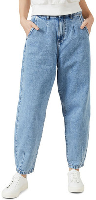 French Connection High Waist Tapered Jean