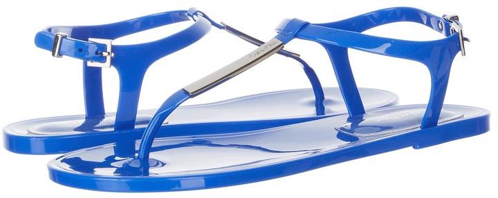Calvin Klein Jamila (Blue Jelly) - Footwear