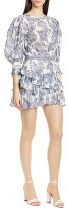 LoveShackFancy Lorelei Floral Minidress