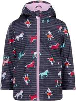 Joules Girls All Over Pony Rubber Coat