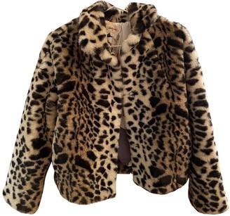 Bellerose Beige Fur Coat for Women