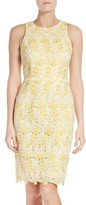 Maggy London Women's Lace Sheath Dress