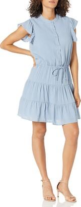 Sugar Lips Sugarlips Women's Rampart Short Sleeve Peasant Dress