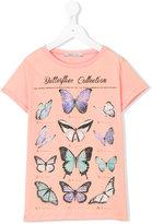 Liu Jo Kids - butterflies collection T-shirt - kids - Cotton - 8 yrs