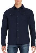Original Penguin Textured Shirt Jacket
