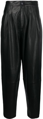 J Brand High-Rise Tapered Trousers