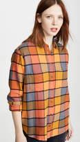 Madewell Rainbow Plaid Sunday Button Down Shirt