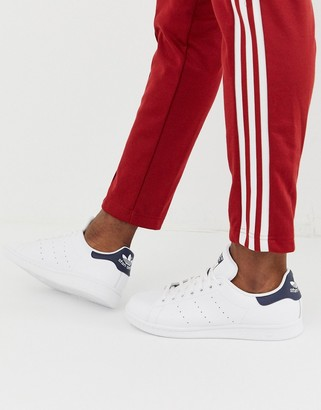 adidas Stan Smith leather trainers in white