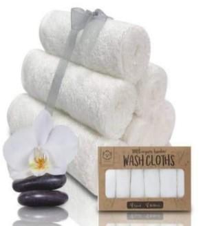 KeaBabies Baby Boys and Girls Washcloths Towel