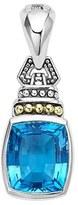 Lagos 'Caviar Color' Semiprecious Stone Clip Pendant