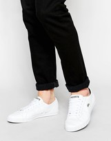 Lacoste Marcel Leather Trainers - White