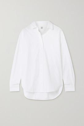 Totême Capri Cotton-poplin Shirt - White