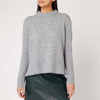 Whistles Women's Ribbed Neck Knit Jumper