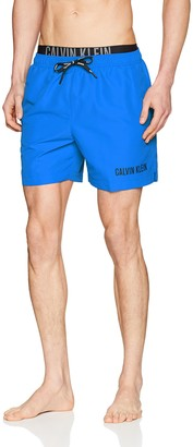 Calvin Klein Men's Medium Double Wb Swim Trunks