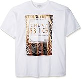 Sean John Men's Big-Tall Short Sleeve Python Dream
