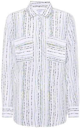 Equipment Signature striped silk shirt