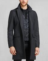 Belstaff Bradbourne Coat Charcoal Melange