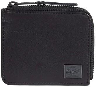 Herschel Jack Leather RFID (Black) Wallet