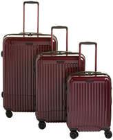 Anne Klein Dubai 3-Piece Hardside Spinner Luggage Set