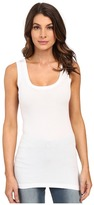 Heather Basic Rib Tank Top