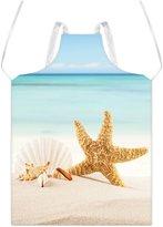 TSlook Apron Beach Starfish Shells Restaurant Home Kitchen Aprons