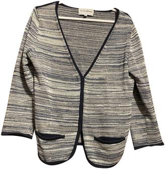 Roseanna Blue Cotton Jackets