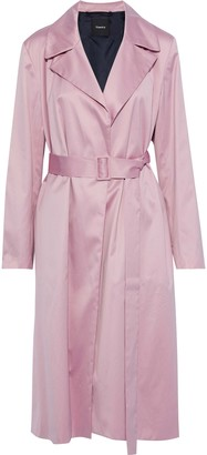 Theory Cotton Trench Coat