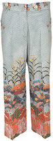 Stella Jean Printed Brushed Trousers
