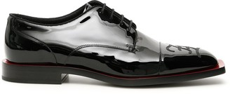 Fendi FF Karligraphy Derby Shoes