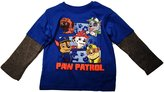 Nickelodeon Paw Patrol Little Boys Long Sleeve Twofer Shirt (T, )