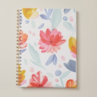 Indigo Paper A4 Poly Pro Notebook Boho Bright Flowers
